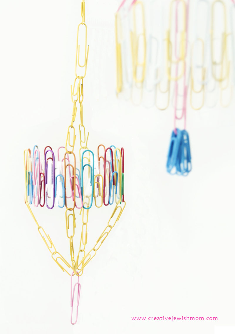Paper Clip Ornaments Craft For The Succah 2