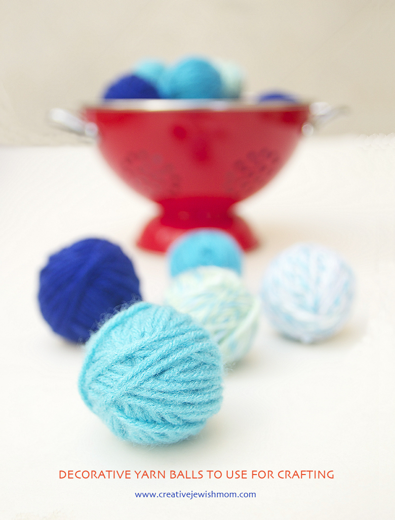Yarn Balls Decorative for garland