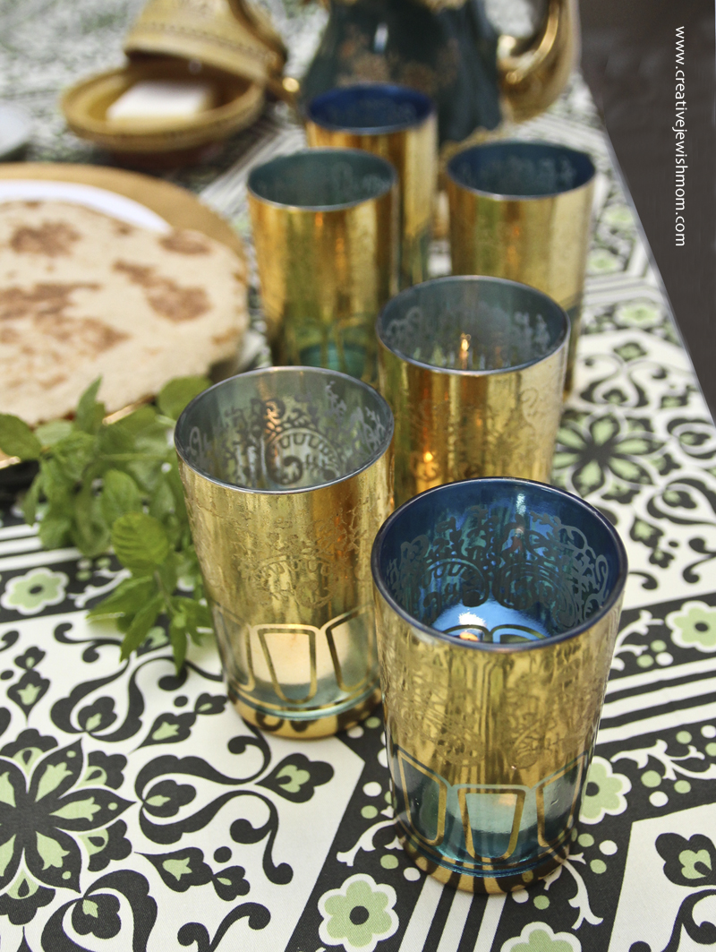 Moroccan Hanukkah party ideas