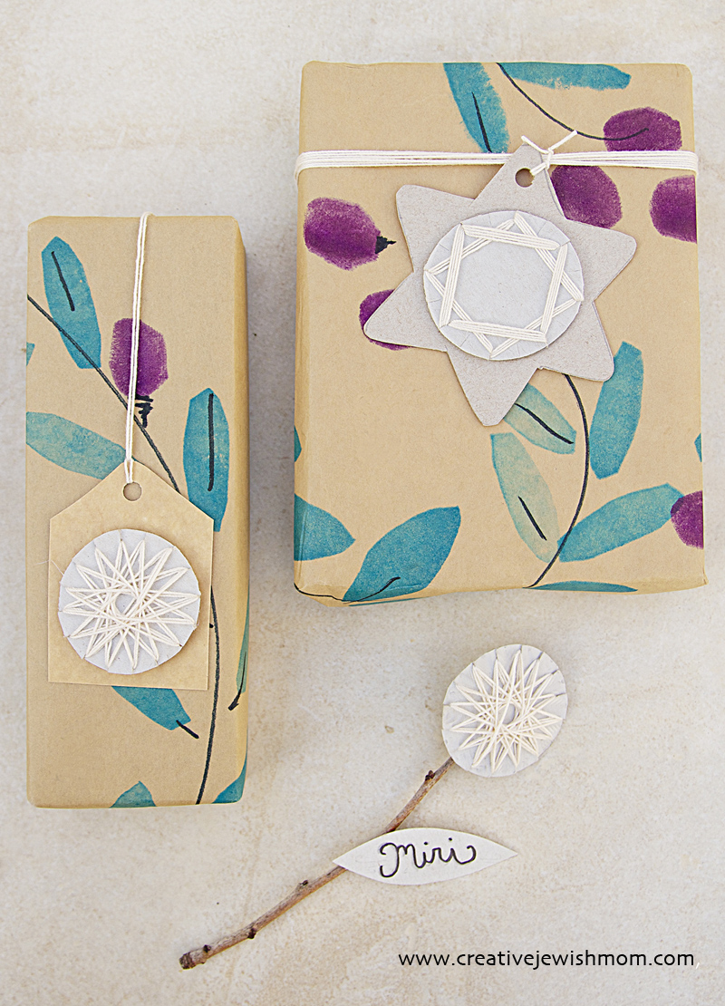 Geometric Star Gift Tags And Placecards