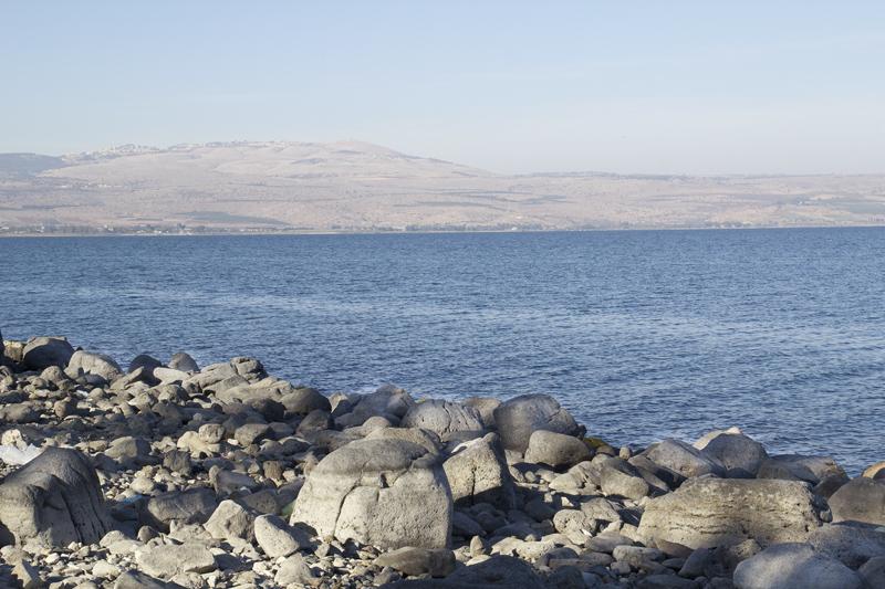 Tiberius Lake With Rocks