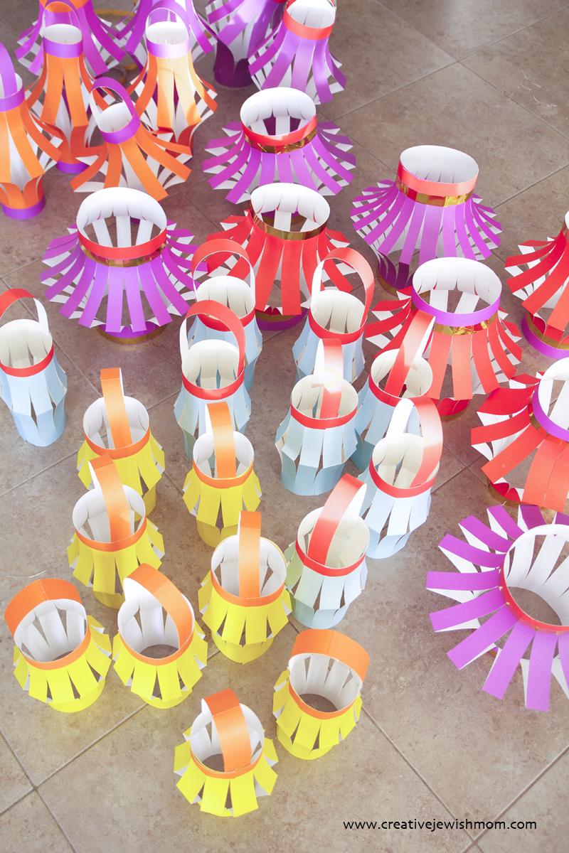 Paper Lantern Centerpieces