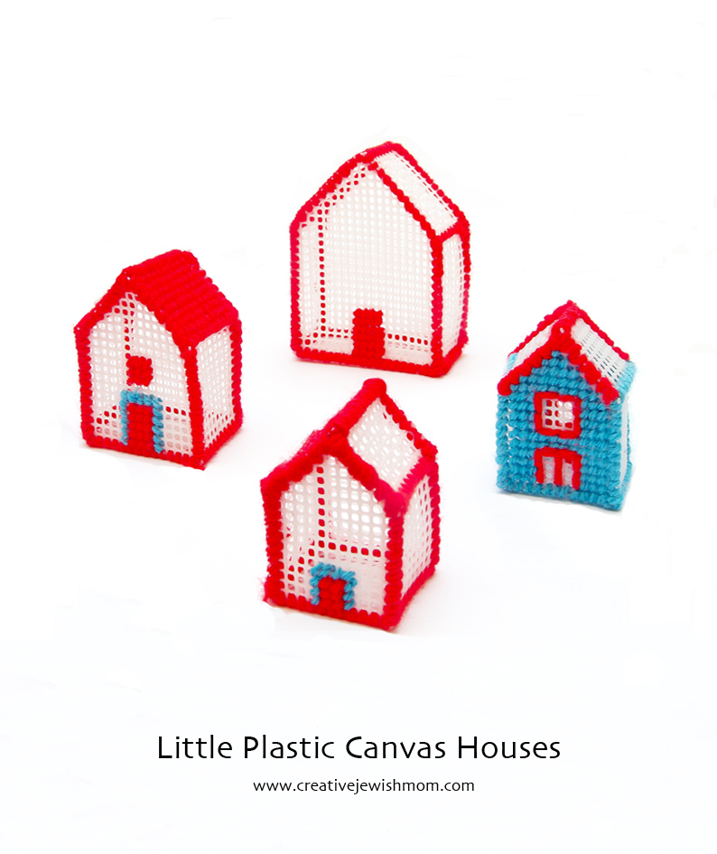 Plastic Canvas houses small