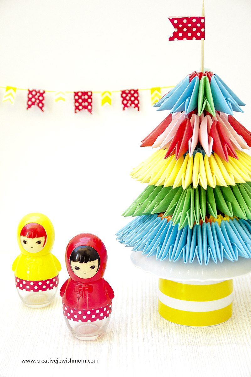 Origami Tree Party Decoration