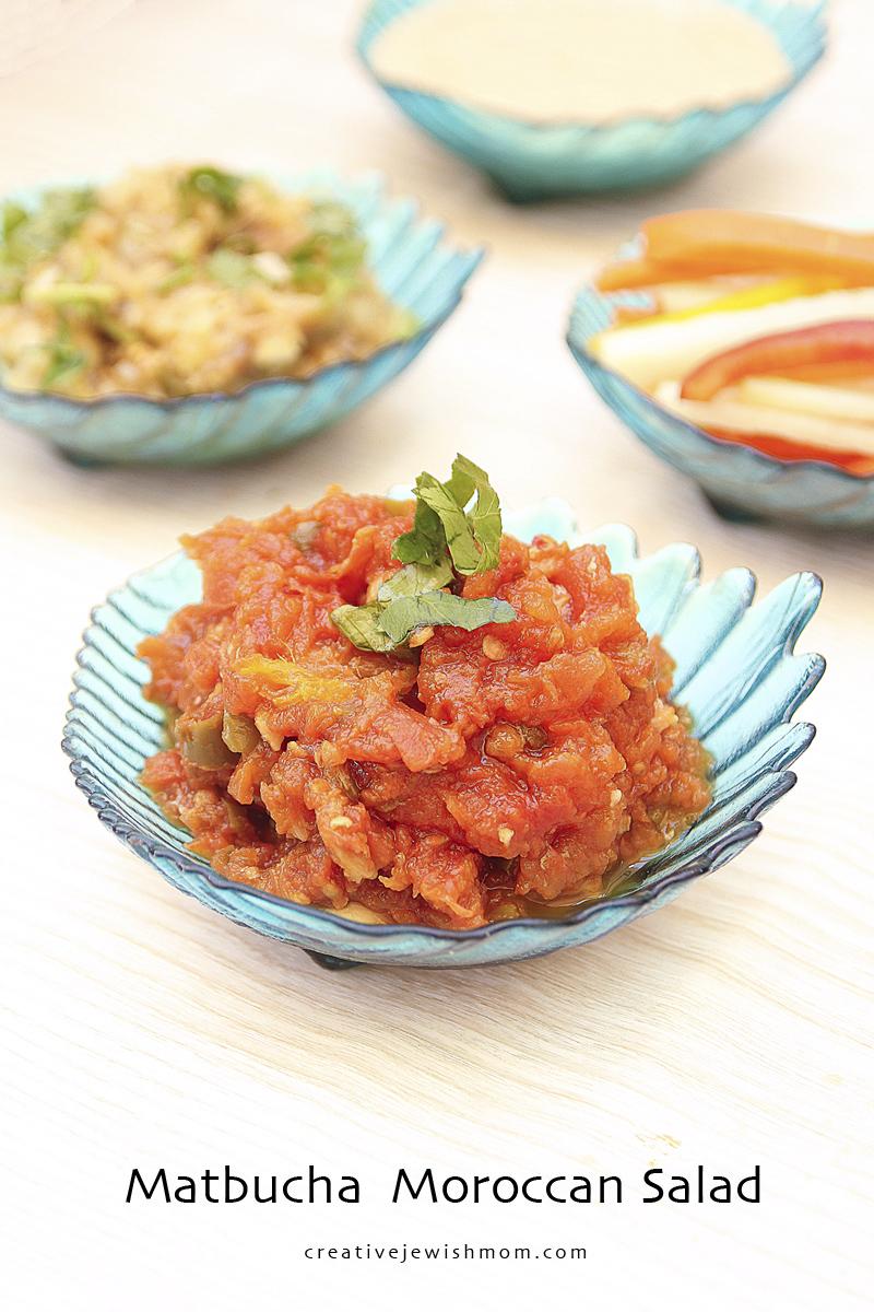 Matbucha Cooked Tomato Salad