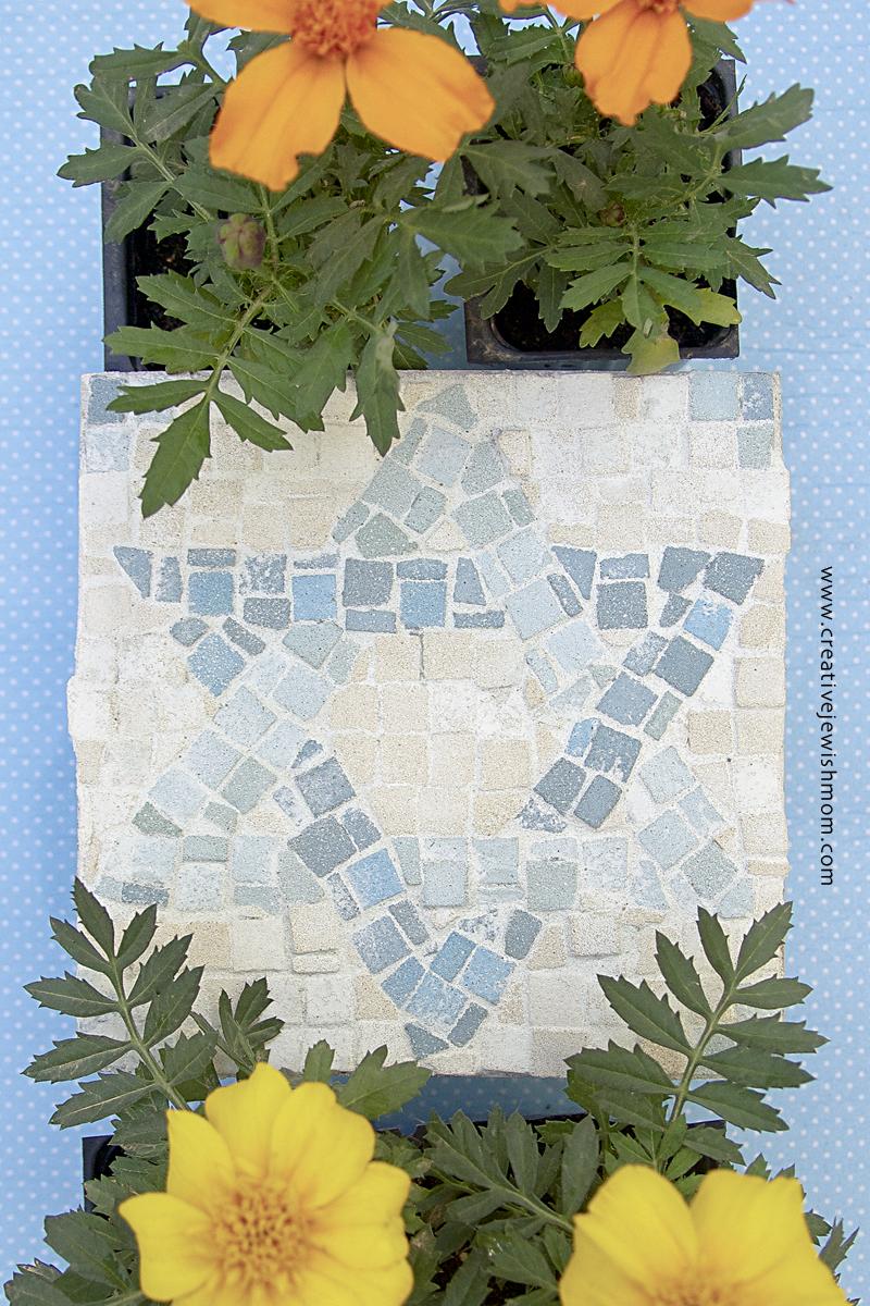 Mosaic Jewish Star Craft For Kids