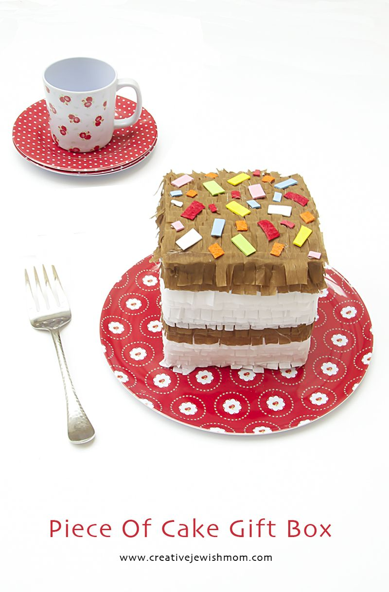 Piece Of Cake Pinata Gift Box