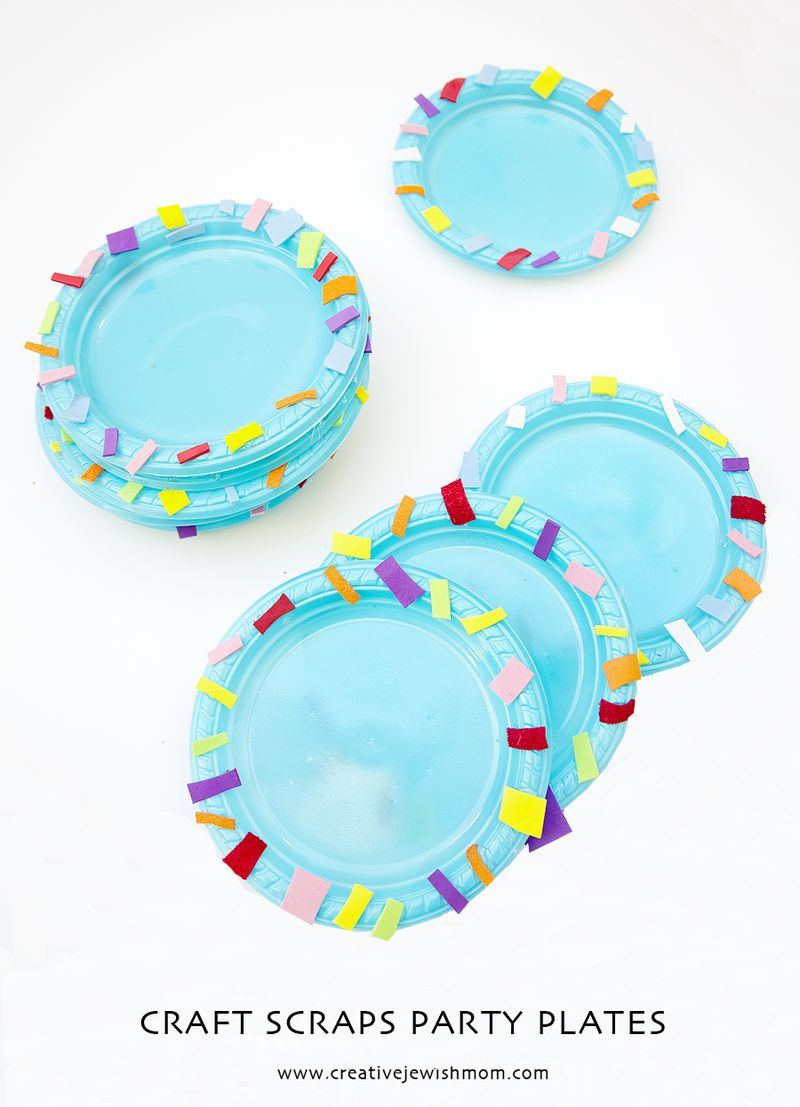 Purim Party plates