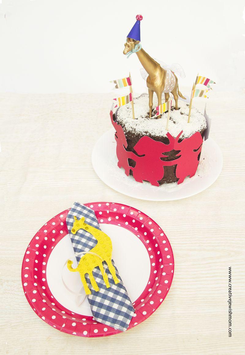 Giraffe Themed Birthday Party