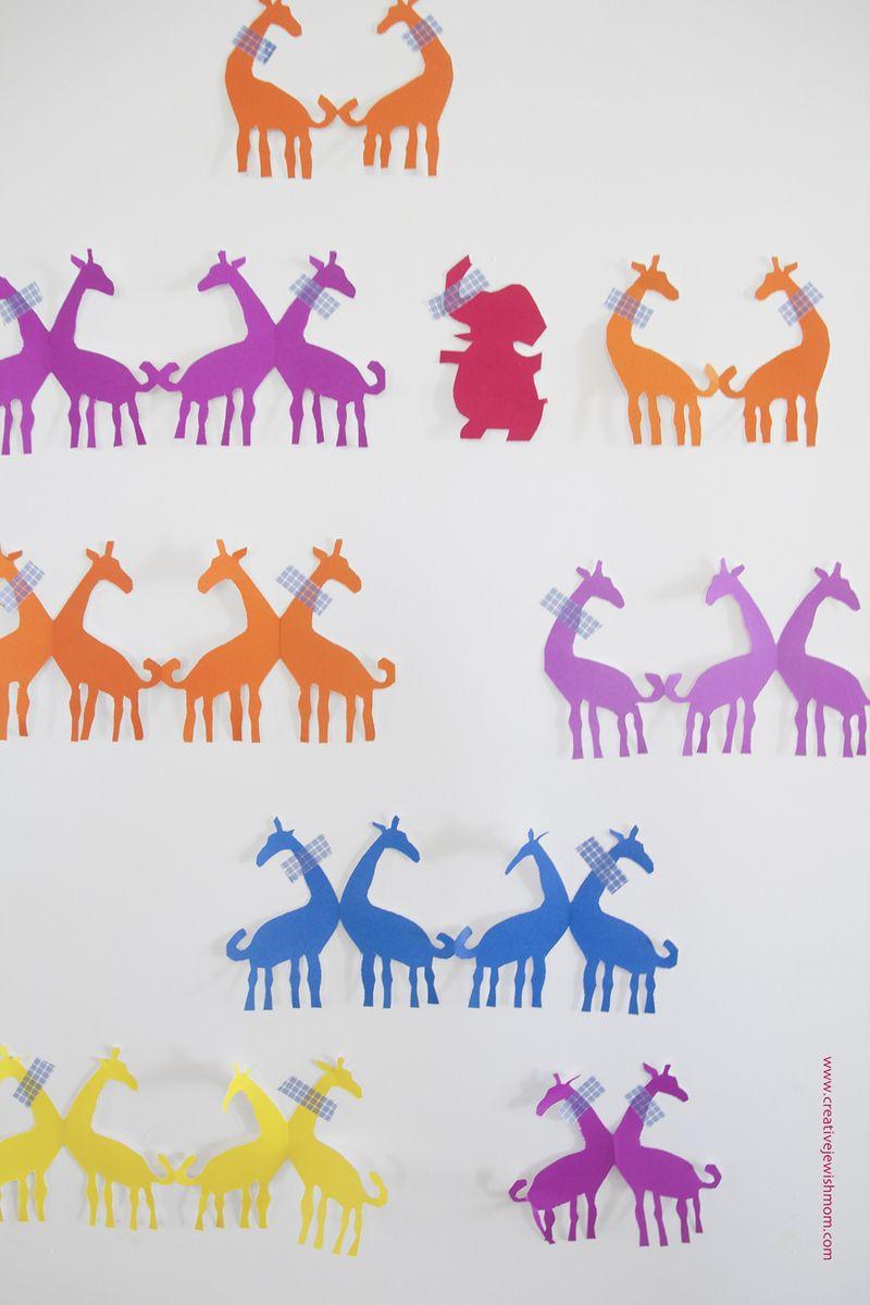Giraffe Paper Dolls