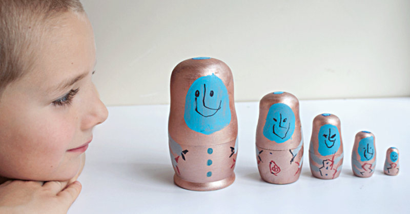 Stacking Dolls Kid's Craft