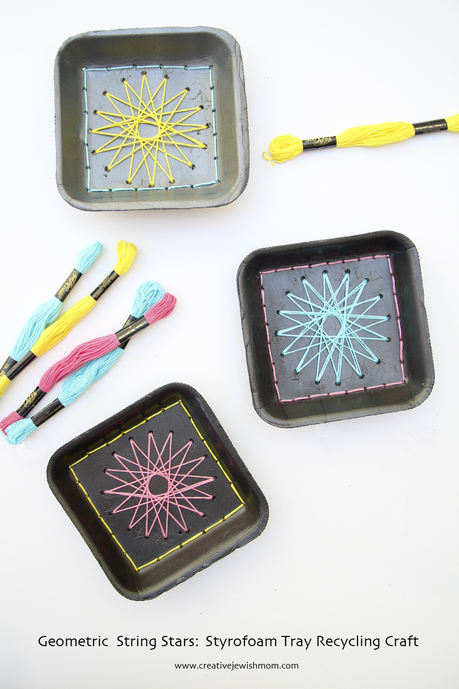 Creative Jewish Mom Recycled Styrofoam Crafts
