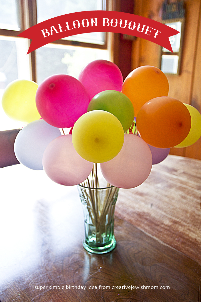 Balloon Bouquet For Birthday