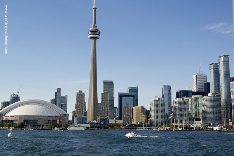 Toronto Skyline From Harbour Cruise