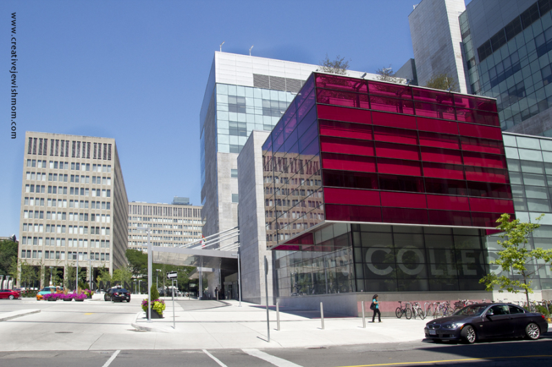 Toronto Modern Architecture Red Cube