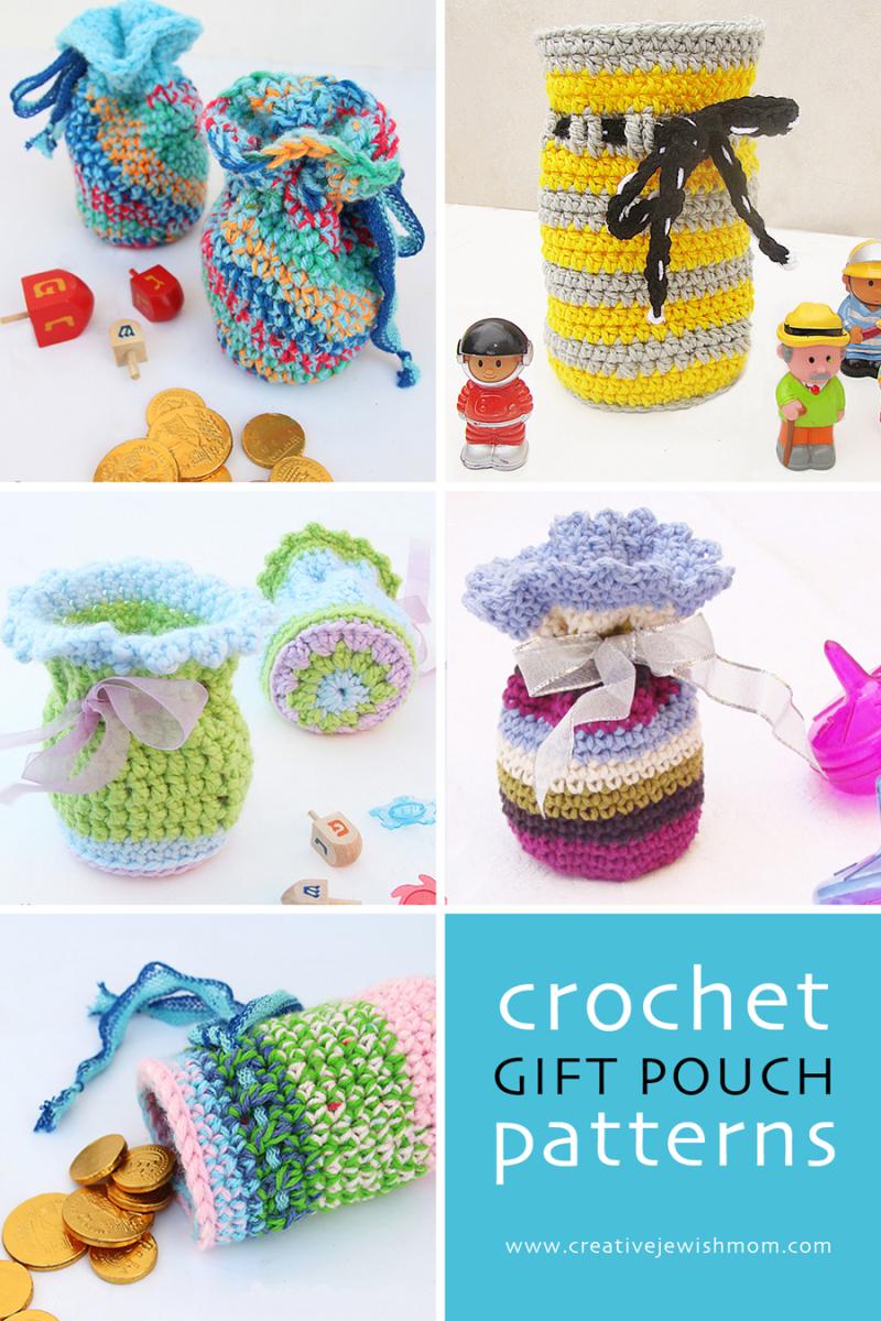 Crochet gift pouch patterns