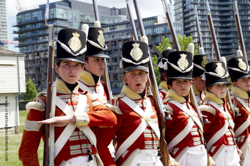 Fort York Toronto Period Costumed Soldiers