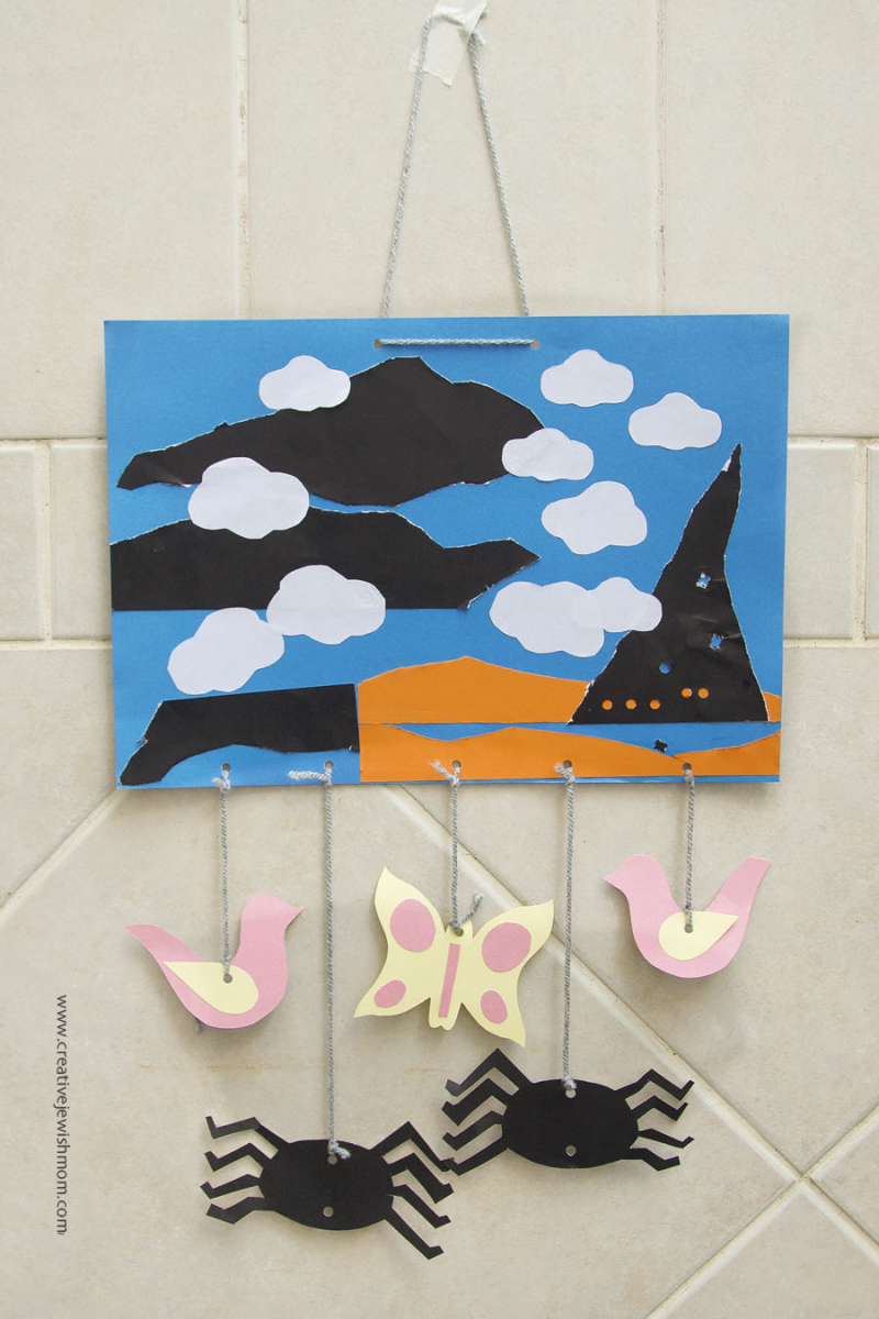 Paper Collage Craft For LIttle Kids
