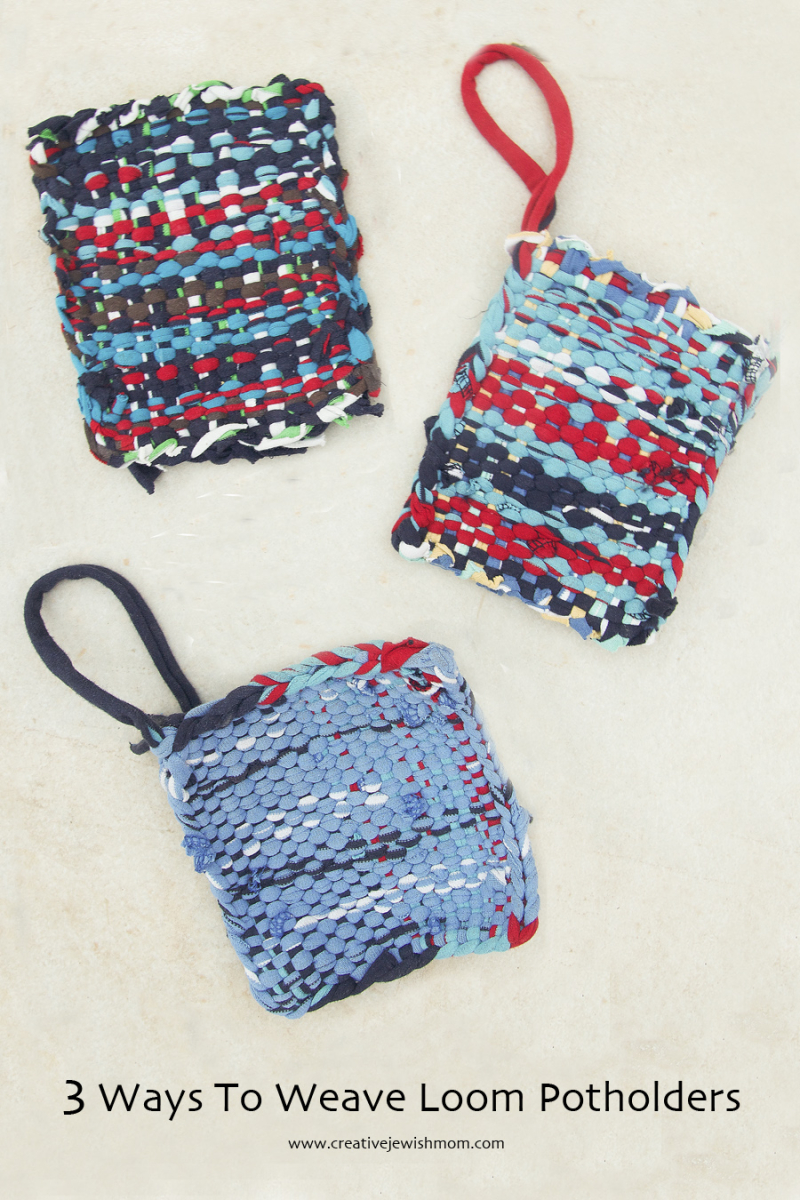 T-shirt potholders three ways