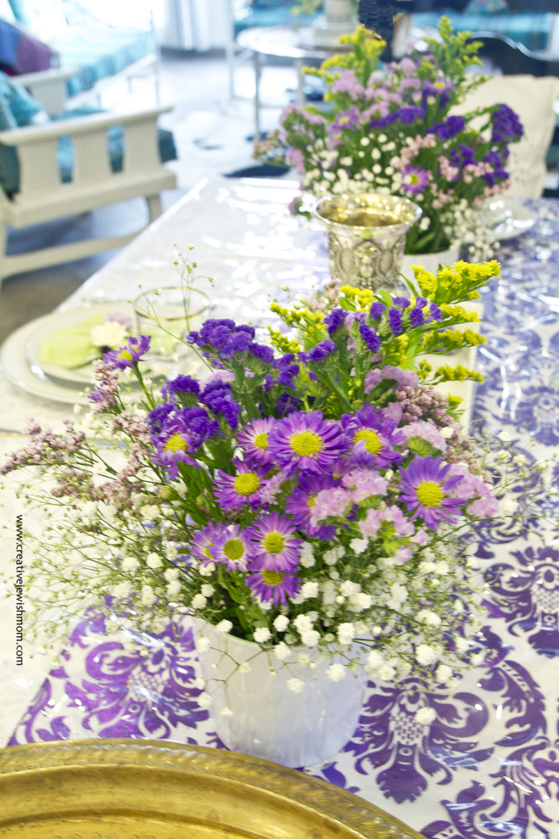 Spring Casual flower Arrangements for Passover