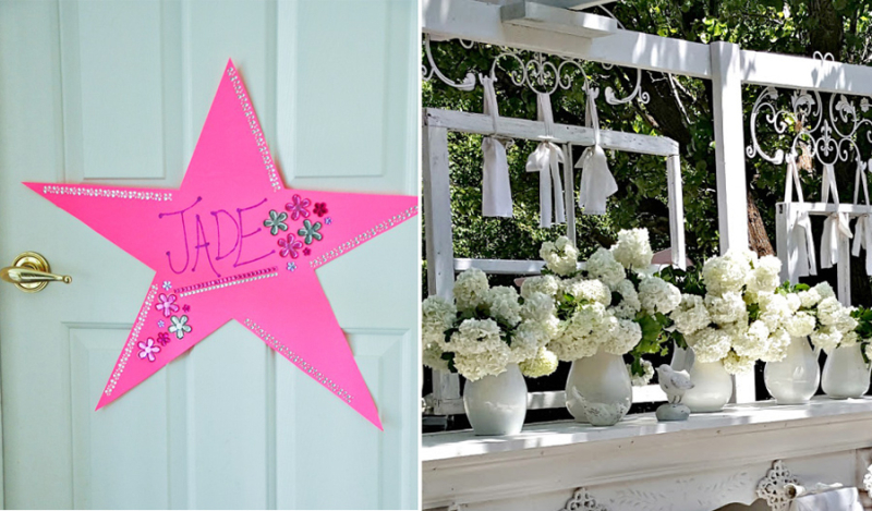 Door star for kids outdoor shabby chic mantel in garden