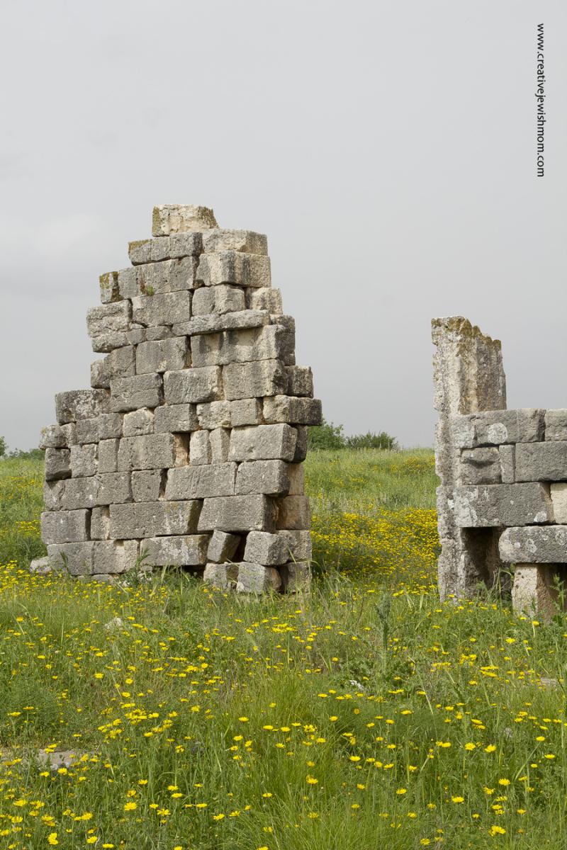 Tel Kedesh Israel Roman Shrine Ruin