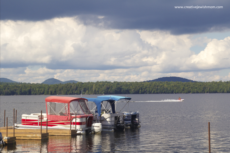 Adirondacks Racquette Lake With boats