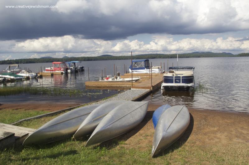 Adirondacks Racquette Lake Canoes
