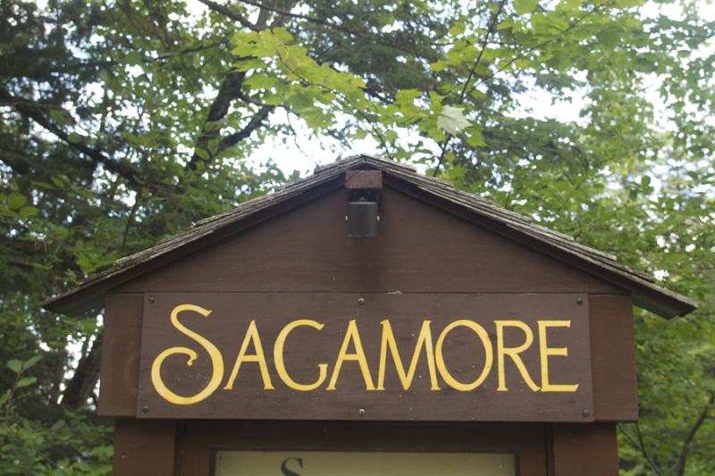 Adirondacks Sagamore Sign