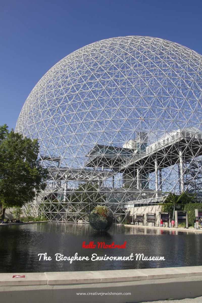Montreal Biosphere Museum Exterior