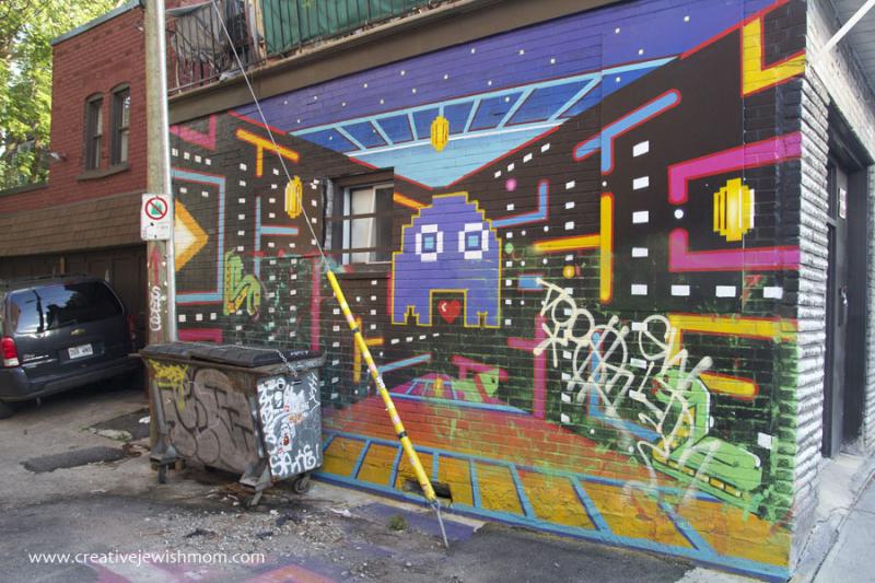 Montreal graffiti digital art