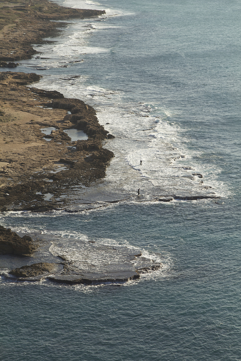 Rosh HaNikra Israel Coastline Looking South