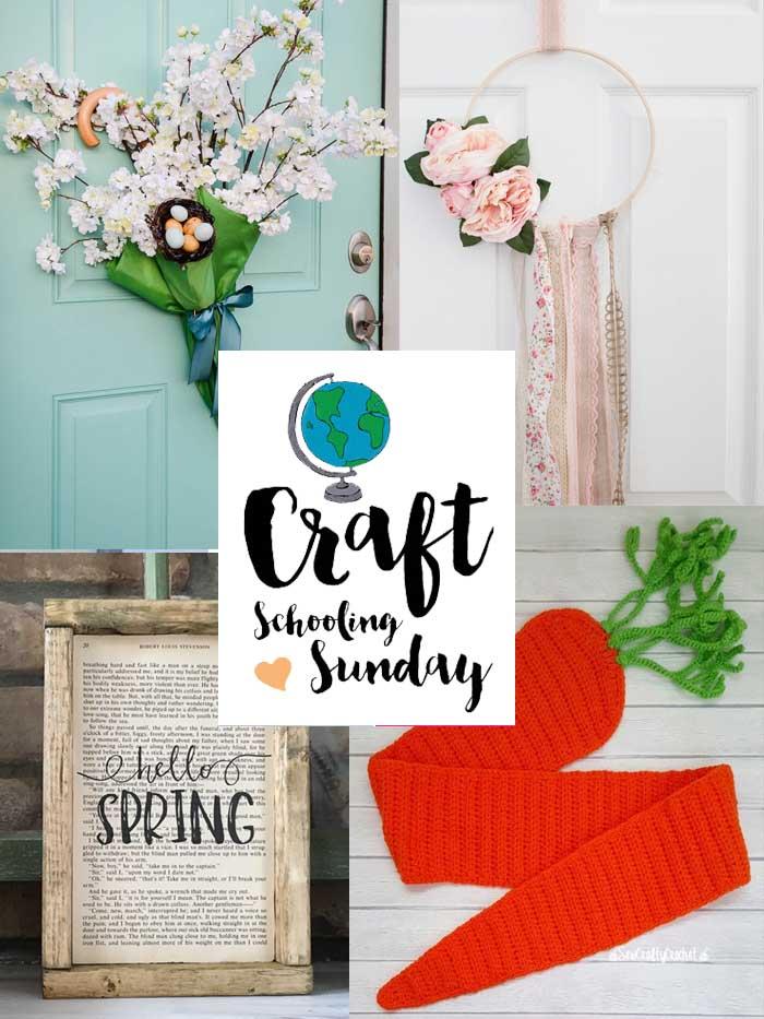 Craft schooling sunday collage2
