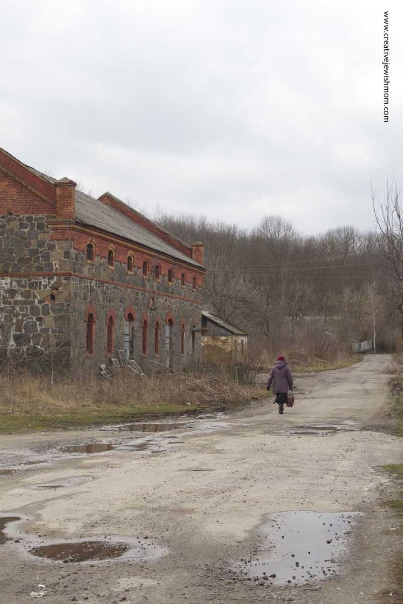 Bratslav Ukraine Dirt Road
