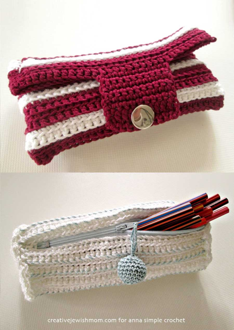 Simple-crocheted-pencil-case