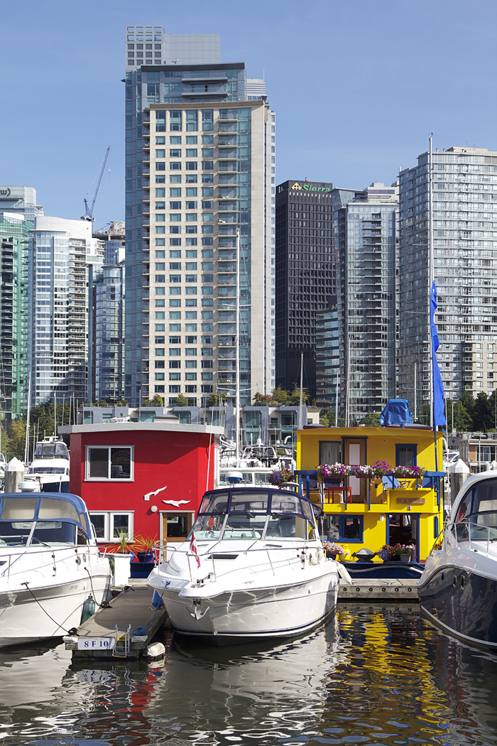 Vancouver Coal Harbor House boats