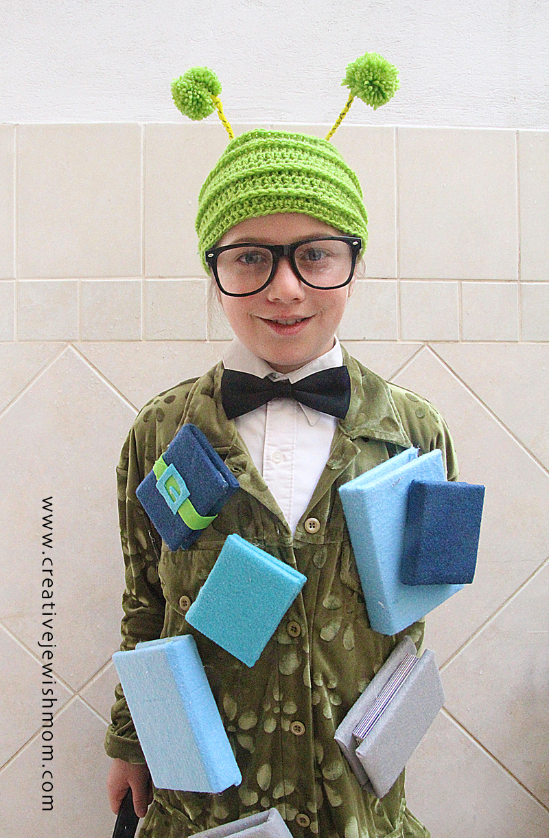 Bookworm Costume For Kids