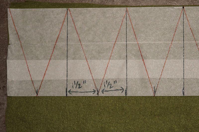 No Sew Fleece Banner Step #2