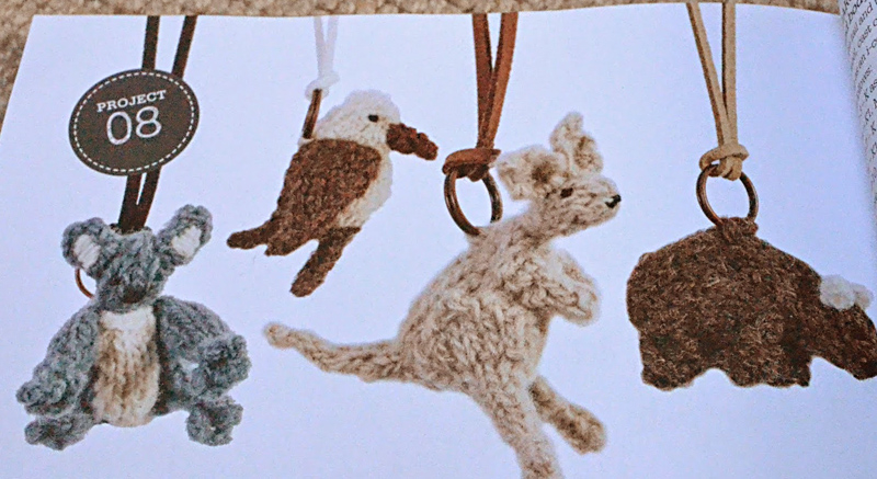 Mini Knit Australian animals