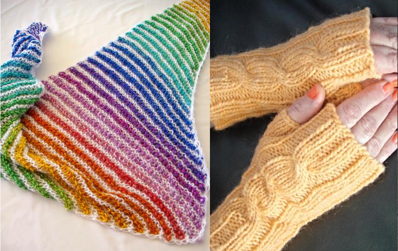 Baktus knit scarf,knit cowl