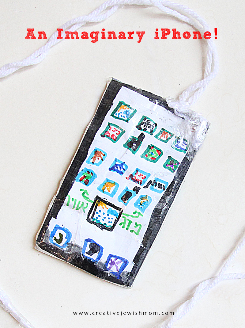Kids Craft paper iPhone