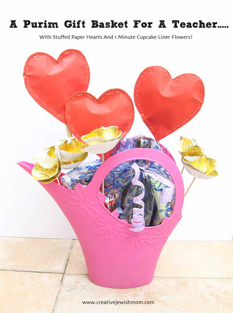 Purim Gift Basket For A Teacher