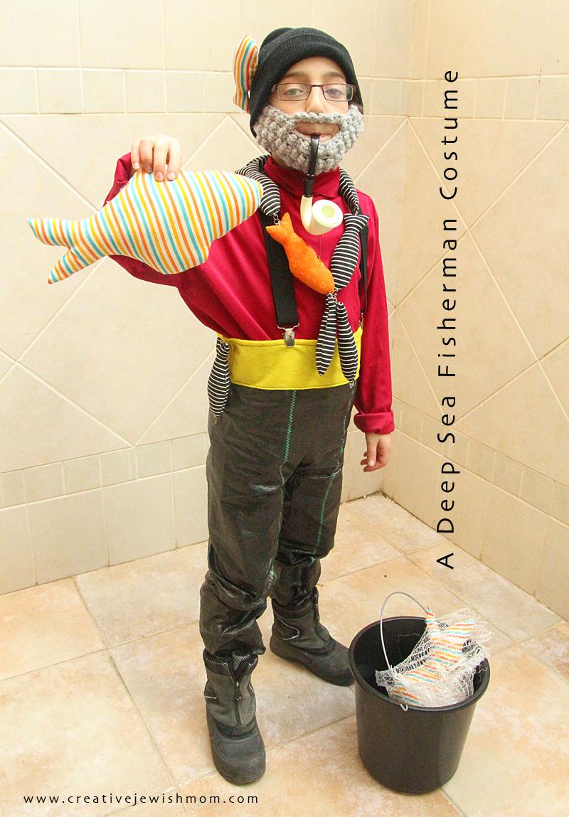 Purim Fisherman Costume