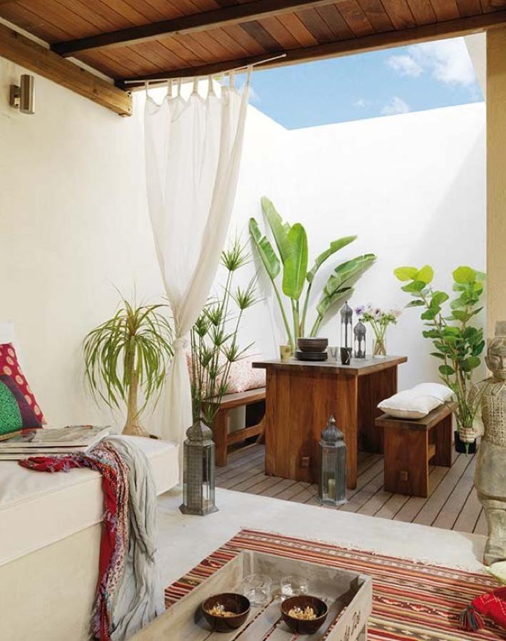 Plants as Decor In Loft