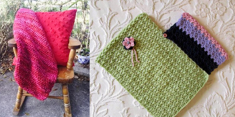 Crocheted poncho for kids,crocheted mini blanket