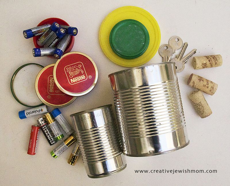 Tin Can Robot How To Step 1