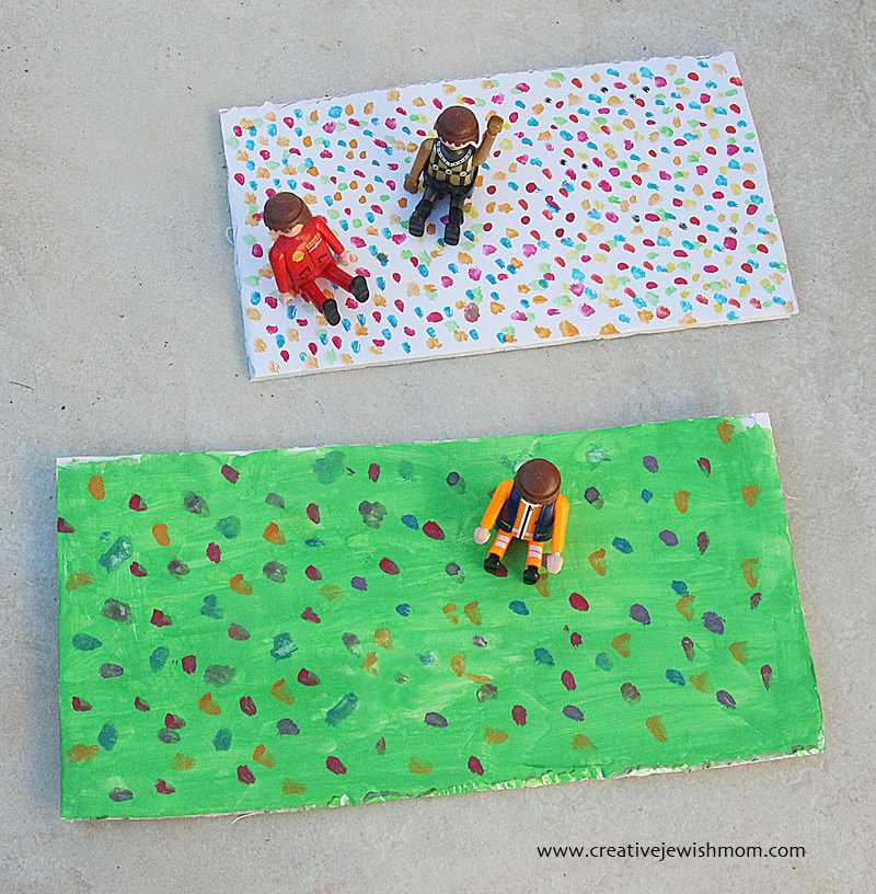 Miniature Park Craft Painted Base