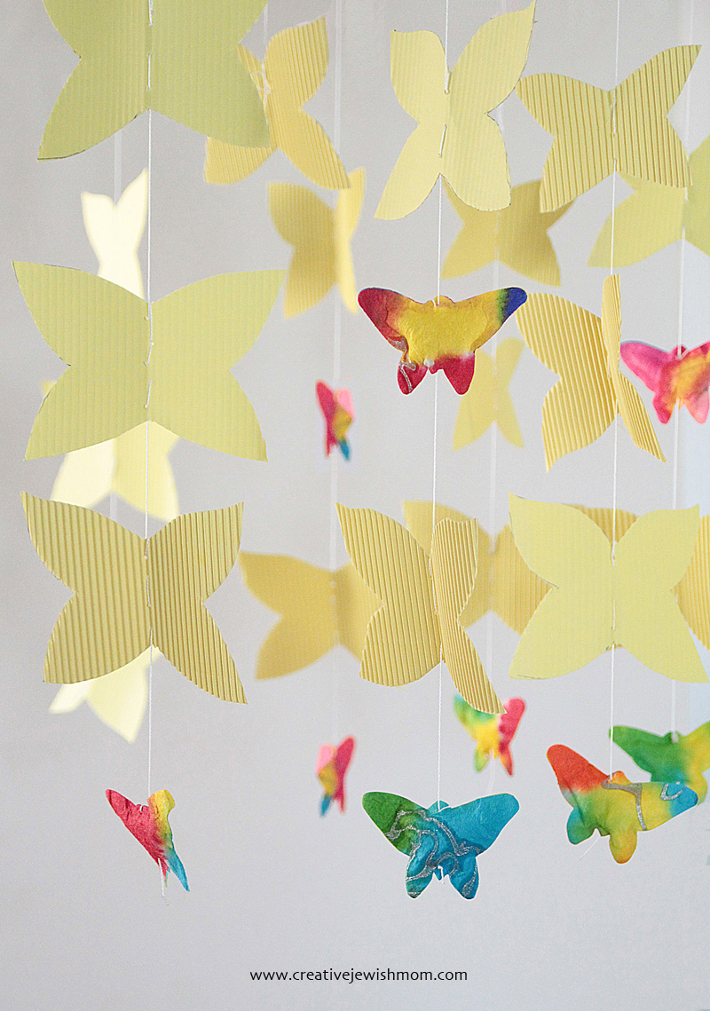 Butterfly Mobile For Birthdays And Babies! - creative jewish mom