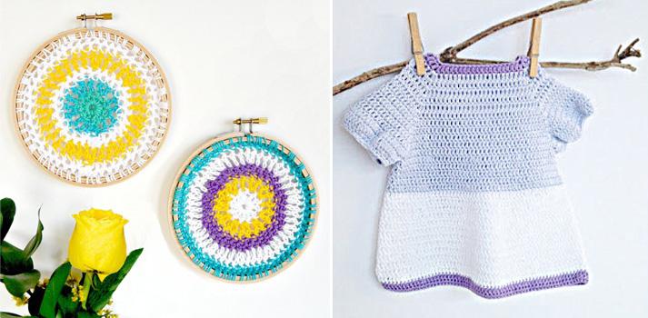 Crochet-Mandala-Hoops crocheted baby dress