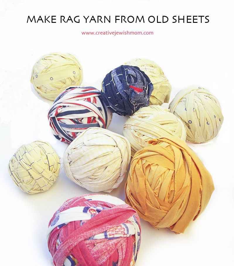 Rag Yarn From Old Sheets